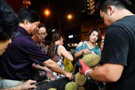 Durians so cheap they are given away free