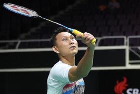 Kuncoro hopes lightning strikes again at Singapore Open