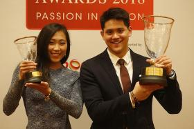 Schooling: Fortunate to win fifth award