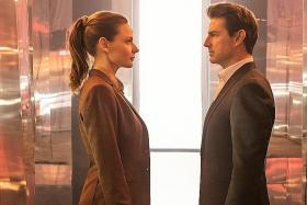 Rebecca Ferguson back to kick butt in Mission: Impossible - Fallout