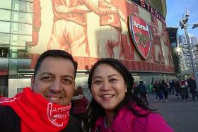 A Gunners fan through and through the ages