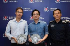 Four people recognised for nabbing upskirt suspects at MRT stations
