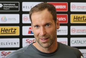 Cech's not bouncing