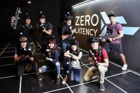 ONE FM DJs battle VR zombies