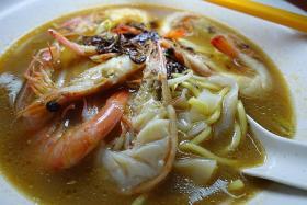Big Prawn Noodles at Loyang is a 'die die must try'