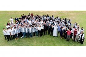 NUS Scale hosts 100-strong student contingent from UAE