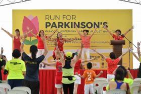 A run to raise money and awareness of Parkinson's disease