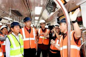 SMRT to put 12 new trains into service by early 2019