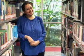 After many years mentoring her junior colleagues in the newsroom, Ms Gamar Abdul Aziz found teaching to be a natural fit for her.