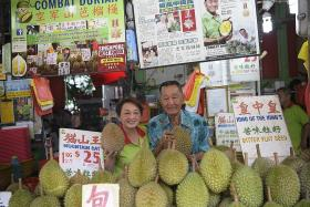 Boss reveals how famed durian stall Combat Durian got its name