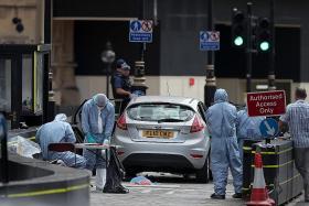 Three hurt in London terror attack