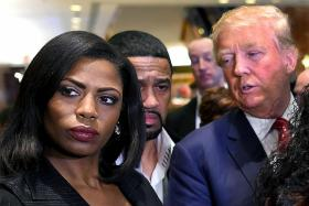 Trump hits back at Omarosa after she releases secret recording