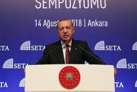 Turkey President says it will boycott US electronics as lira steadies