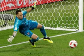 David Ospina, who was part of the Colombia team that reached the Round of 16 at the World Cup, where they lost to England, have joined Napoli on loan.