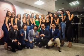 MUS finalists get whiter, brighter smile from Orchard Scotts Dental