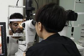 Community eye clinics save patients a trrip to hospital