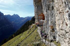 Cliffside Swiss restaurant seeks new managers