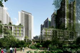 Newly launched waterfront Punggol flats a hit