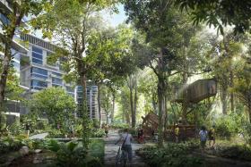 Tengah to grow its distinctive identity through gardens