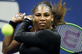 Serena shakes off slow start to enter semis