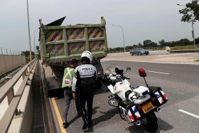Heavy vehicles involved in fewer fatal accidents in first half of year