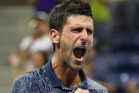 Djokovic sweats into US Open semis