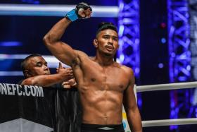 Singapore's Amir Khan has now won two bouts in a row.