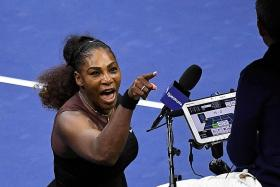 Serena insists she's not a cheat in another meltdown