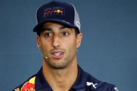 Daniel Ricciardo (above) says Ferrari are the favourites in Singapore.