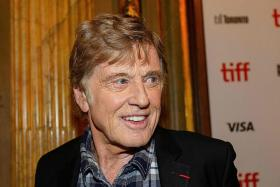 Robert Redford bids farewell to acting with crime caper at TIFF