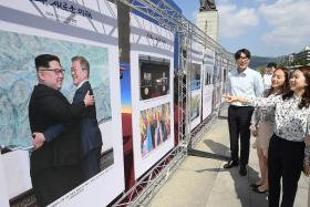 Moon to 'push for denuclearisation' with N. Korea
