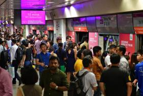 NUS student arrested for outrage of modesty on train