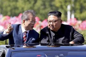 Kim says he hopes for 'big outcome' at inter-Korean summit