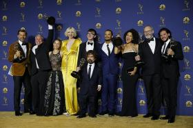 Game Of Thrones, Mrs Maisel win on night of Emmy upsets