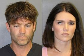 US surgeon, girlfriend charged with rape, hundreds of videos found