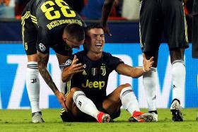 Ronaldo's red card overshadows Juve win