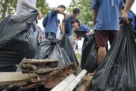 Over 1,600kg of trash collected on Pulau Ubin in annual cleanup