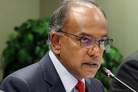 Stable leadership transition vital for Singapore: K. Shanmugam