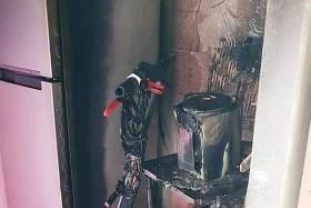 E-scooter starts fire in Punggol flat