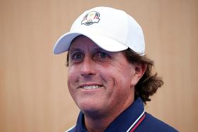 Mickelson relishing a ride with Tiger at Ryder Cup