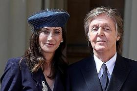 Paul McCartney (with his wife Nancy Shevell) has written a children's book.
