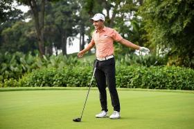 Consistency is key to winning AAC, says Singapore golfer Abdul Hadi