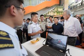 Ng urges SAF to exploit data intelligently to stay ahead