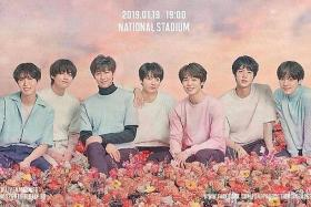 BTS fever spreads to London