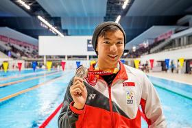 Toh completes his hat-trick of medals