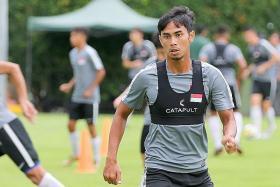 Adam seeks to replicate club form at Suzuki Cup