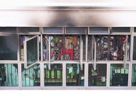 Woman dies in Punggol flat fire, granddaughter warded
