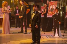 Peter Dinklage relates to real-life midget actor he plays in HBO film