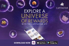 Explore a universe of rewards with the CapitaStar mobile app.