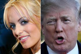 Trump calls porn star Stormy Daniels 'Horseface'